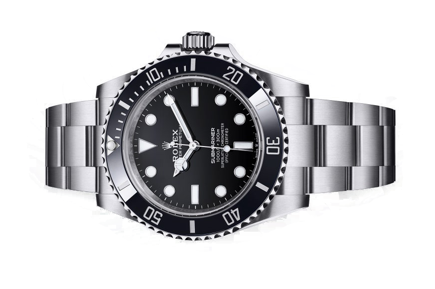 2020 rolex submariner non date black
